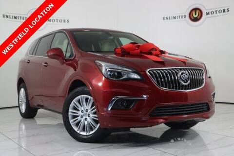 2018 Buick Envision for sale at INDY'S UNLIMITED MOTORS - UNLIMITED MOTORS in Westfield IN