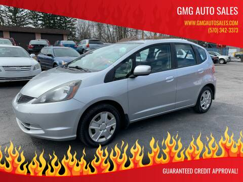 2013 Honda Fit for sale at GMG AUTO SALES in Scranton PA