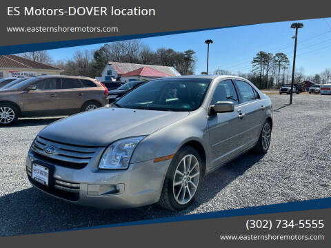 2009 Ford Fusion for sale at ES Motors-DAGSBORO location - Dover in Dover DE