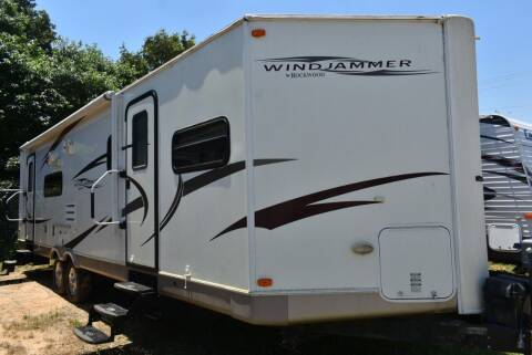 2010 Forest River Rockwood Windjammer 30FBSS for sale at Buy Here Pay Here RV in Burleson TX