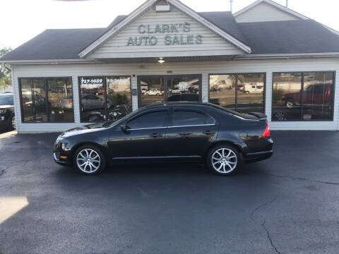 2010 Ford Fusion for sale at Clarks Auto Sales in Middletown OH