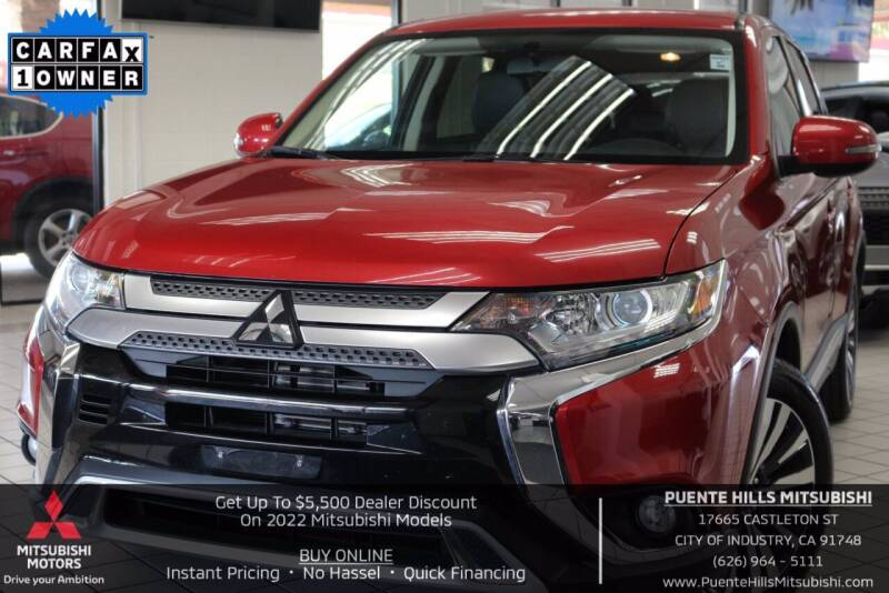 2019 Mitsubishi Outlander for sale in City Of Industry, CA