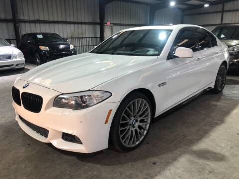 2013 BMW 5 Series for sale at Mr Cars LLC in Houston TX