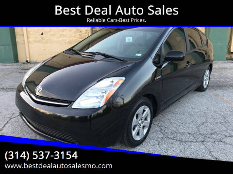 2008 Toyota Prius for sale at Best Deal Auto Sales in Saint Charles MO