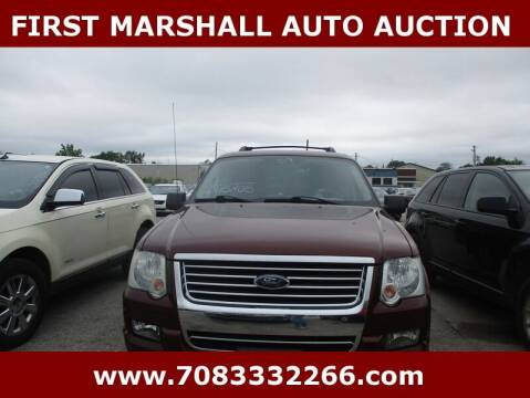 2009 Ford Explorer for sale at First Marshall Auto Auction in Harvey IL