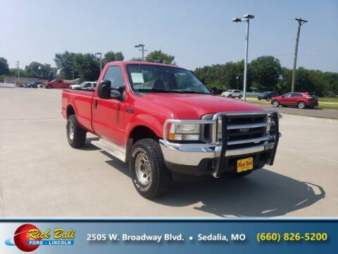 2004 Ford F-250 Super Duty for sale at RICK BALL FORD in Sedalia MO