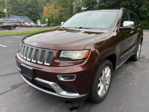 2014 Jeep Grand Cherokee for sale at Volpe Preowned in North Branford CT