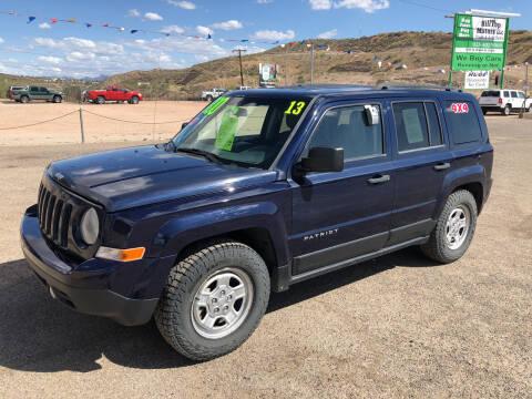 2013 Jeep Patriot for sale at Hilltop Motors in Globe AZ