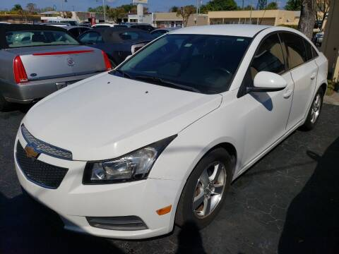 2014 Chevrolet Cruze for sale at KK Car Co Inc in Lake Worth FL