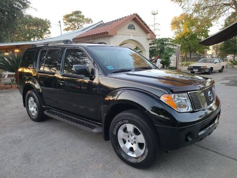 2007 Nissan Pathfinder for sale at G&J Car Sales in Houston TX