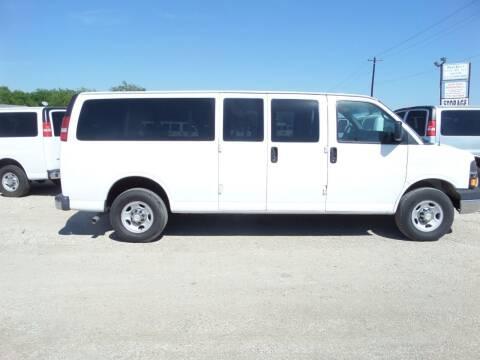 2014 Chevrolet Express Passenger for sale at AUTO FLEET REMARKETING, INC. in Van Alstyne TX