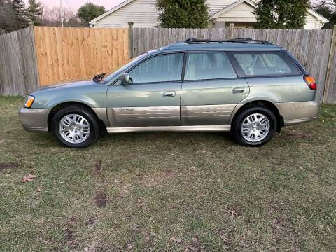 2004 Subaru Outback for sale at ALL Motor Cars LTD in Tillson NY