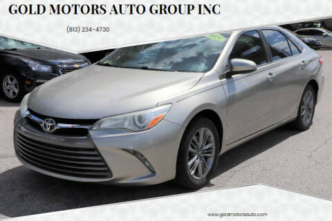 2015 Toyota Camry for sale at Gold Motors Auto Group Inc in Tampa FL