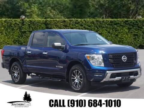 2021 Nissan Titan for sale at PHIL SMITH AUTOMOTIVE GROUP - Pinehurst Nissan Kia in Southern Pines NC