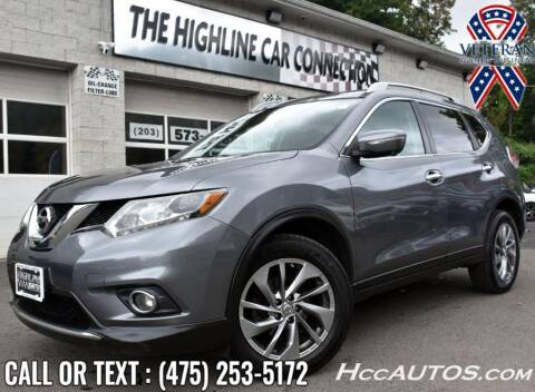 2015 Nissan Rogue for sale at The Highline Car Connection in Waterbury CT