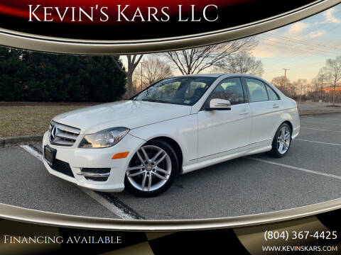 2012 Mercedes-Benz C-Class for sale at Kevin's Kars LLC in Richmond VA