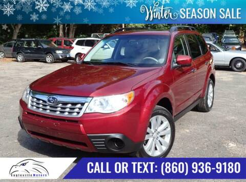 2011 Subaru Forester for sale at EAGLEVILLE MOTORS LLC in Storrs CT