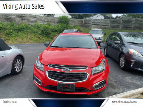 2016 Chevrolet Cruze Limited for sale at Viking Auto Sales in Bristol TN