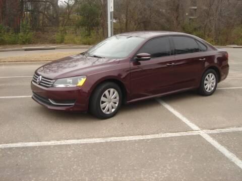 2013 Volkswagen Passat for sale at ACH AutoHaus in Dallas TX