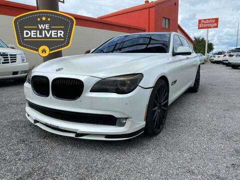 2011 BMW 7 Series for sale at JC AUTO MARKET in Winter Park FL