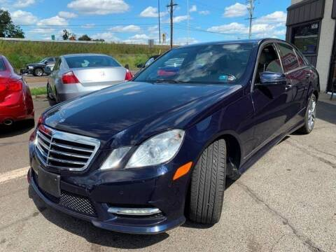 2013 Mercedes-Benz E-Class for sale at Luxury Unlimited Auto Sales Inc. in Trevose PA