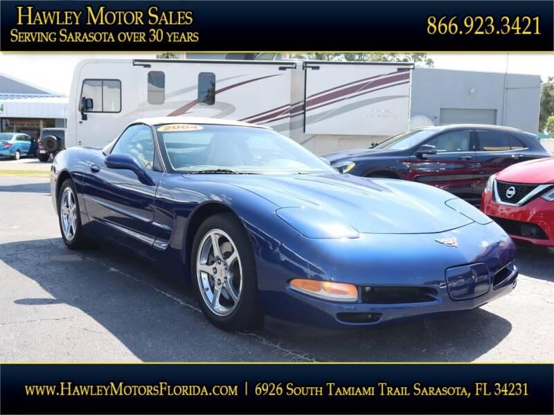 2004 Chevrolet Corvette for sale at Hawley Motor Sales in Sarasota FL