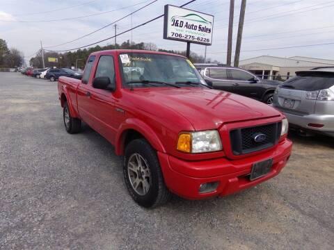 2005 Ford Ranger for sale at J & D Auto Sales in Dalton GA