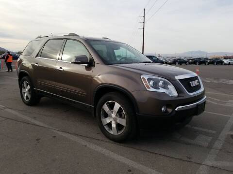 2011 GMC Acadia for sale at A.I. Monroe Auto Sales in Bountiful UT