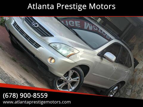 2006 Lexus RX 400h for sale at Atlanta Prestige Motors in Decatur GA