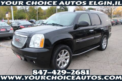 2007 GMC Yukon for sale at Your Choice Autos - Elgin in Elgin IL