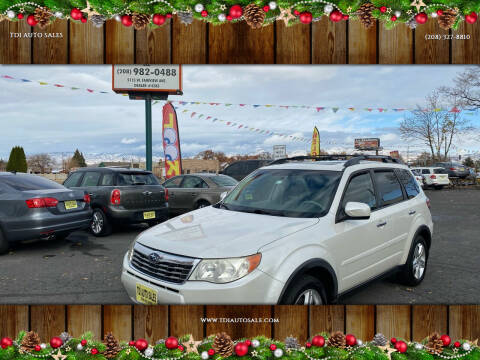 2010 Subaru Forester for sale at TDI AUTO SALES in Boise ID