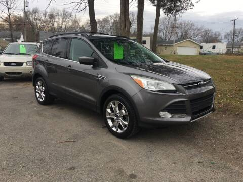 2013 Ford Escape for sale at Antique Motors in Plymouth IN
