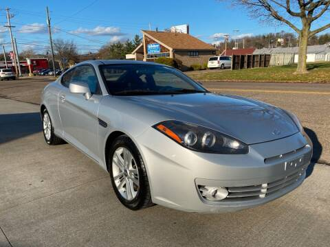 2008 Hyundai Tiburon for sale at Dalton George Automotive in Marietta OH