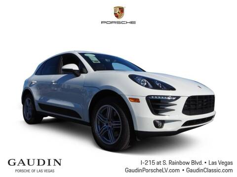 2017 Porsche Macan for sale at Gaudin Porsche in Las Vegas NV
