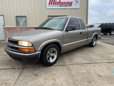 2003 Chevrolet S-10 for sale at Midway Motors in Conway AR
