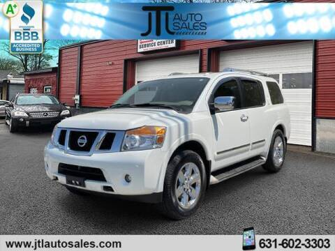 2014 Nissan Armada for sale at JTL Auto Inc in Selden NY