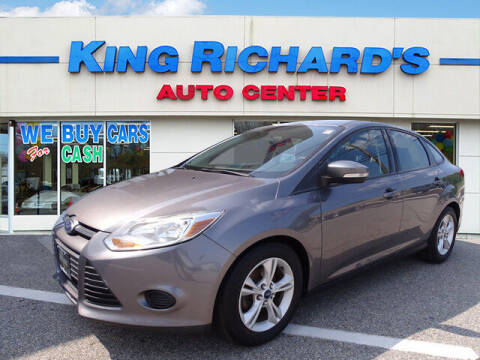 2014 Ford Focus for sale at KING RICHARDS AUTO CENTER in East Providence RI