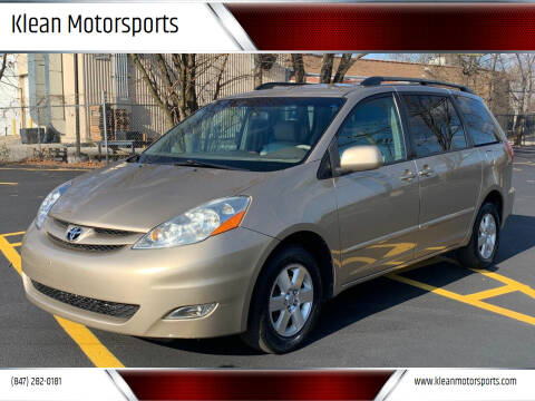 2006 Toyota Sienna for sale at Klean Motorsports in Skokie IL