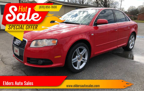 2008 Audi A4 for sale at Elders Auto Sales in Pine Bluff AR
