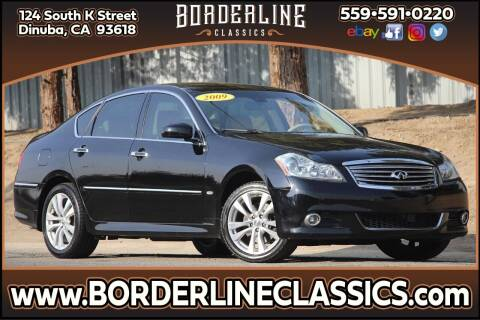 2009 Infiniti M35 for sale at Borderline Classics in Dinuba CA