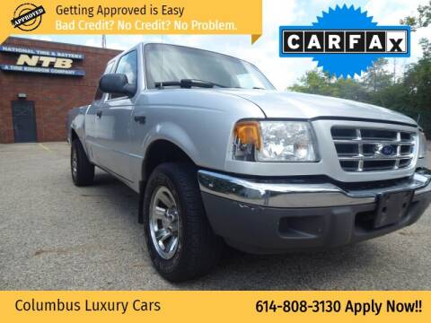 2001 Ford Ranger for sale at Columbus Luxury Cars in Columbus OH