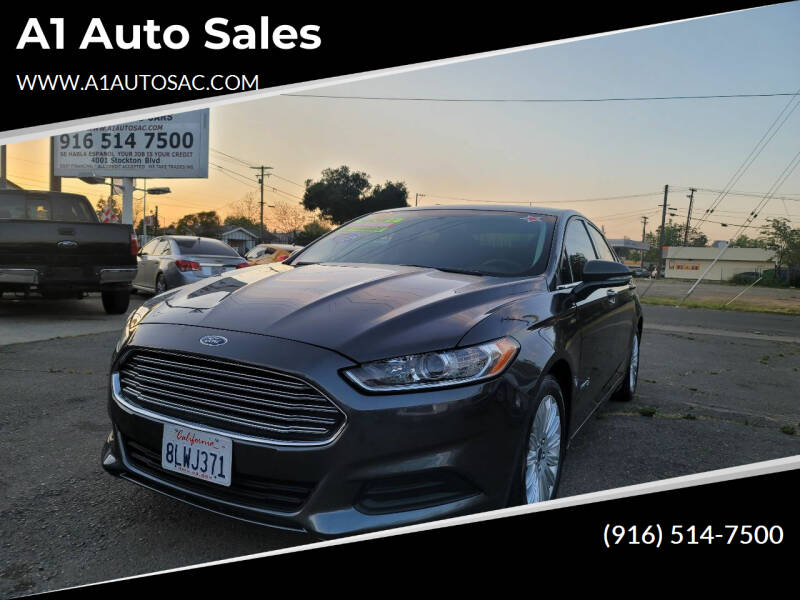 2016 Ford Fusion Hybrid for sale at A1 Auto Sales in Sacramento CA
