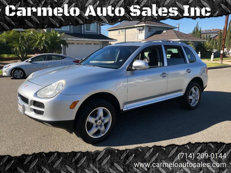 2004 Porsche Cayenne for sale at Carmelo Auto Sales Inc in Orange CA