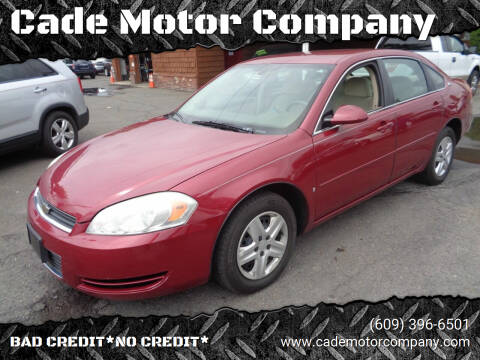 2006 Chevrolet Impala for sale at Cade Motor Company in Lawrence Township NJ