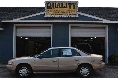 2002 Buick Century for sale at Quality Pre-Owned Automotive in Cuba MO