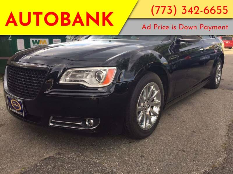 2012 Chrysler 300 for sale at AutoBank in Chicago IL