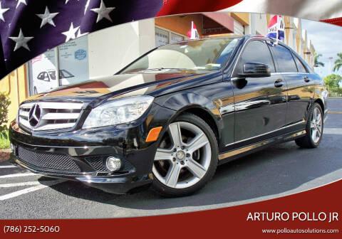 2010 Mercedes-Benz C-Class for sale at POLLO AUTO SOLUTIONS in Miami FL