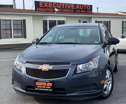 2013 Chevrolet Cruze for sale at Executive Auto in Winchester VA