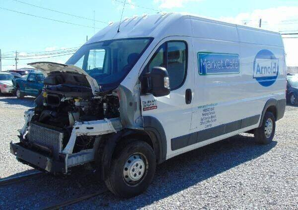 2016 RAM ProMaster Cargo for sale at Kenny's Auto Wrecking in Lima OH
