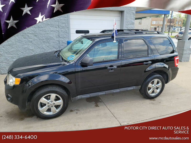 2012 Ford Escape for sale at Motor City Direct Auto Sales & Service in Pontiac MI